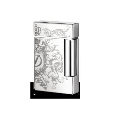 S.T. Dupont Ligne 8 Lighter, Blazon Chrome