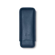 Zino Cigar Case Dark Blue, 2  Cigars / XL