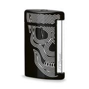 S.T. Dupont MiniJet Lighter, Black Skull