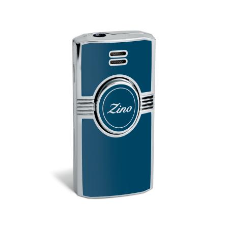 Zino Jet Flame Lighter, Light Blue / Lacquer