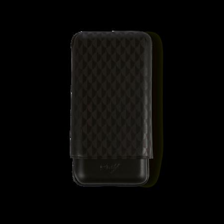Davidoff Cigar Case Curing, Black / 3 Cigars / XL