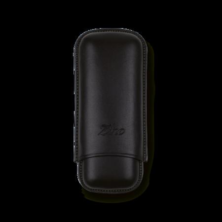 Zino Cigar Case Black and Mint, 2 Cigars / R