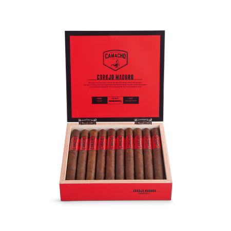Camacho Corojo Maduro Churchill, Box of 20