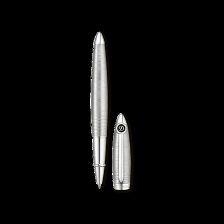 S.T. Dupont Streamline R Pen Brushed Palladium, Roller Ball