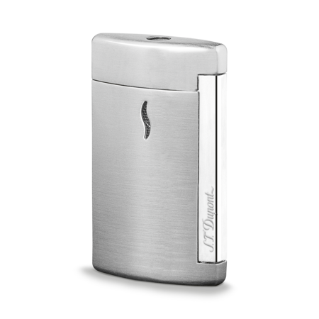 S.T. Dupont James Bond 007 MiniJet Lighter, Brushed Chrome