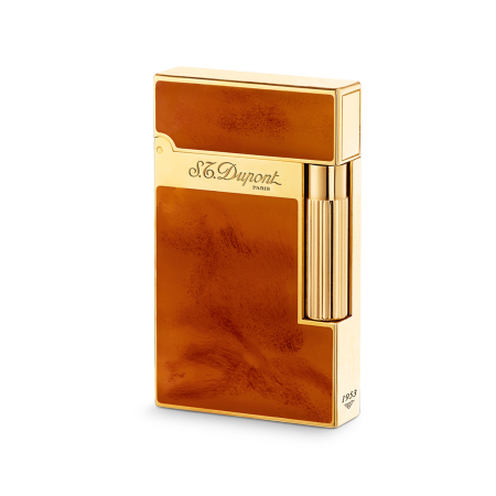 S.T. Dupont Ligne 2 'Atelier Collection' Lighter, Light Brown