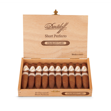 Davidoff Colorado Claro Short Perfecto, Box of 10