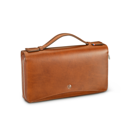 S.T. Dupont Line D Organizer Bag, Brown
