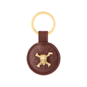S.T. Dupont Pirates of the Caribbean Key Ring, Brown Leather