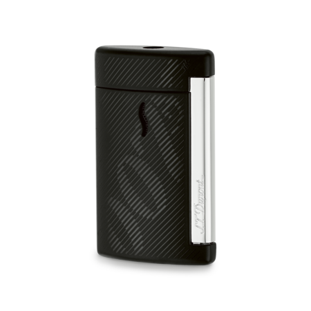 S.T. Dupont James Bond 007 MiniJet Lighter, Black Lacquer & Gold