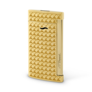 S.T. Dupont Slim 7 Lighter, Gold Fire Head