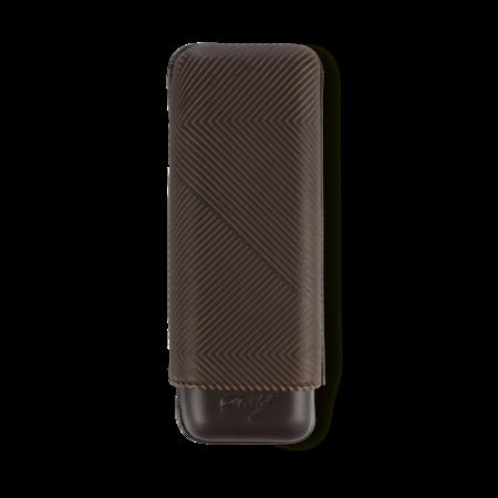 Davidoff Cigar Case Leaf, Brown / 2 Cigars / XL