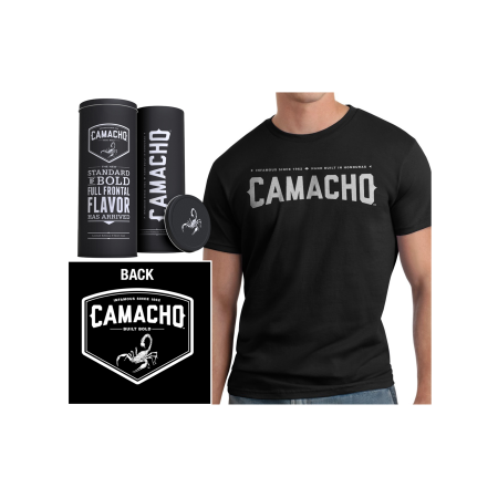Camacho T-Shirt 'in a Can', XL Men's