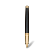 S.T. Dupont James Bond 007 Line D Pen, Rollerball / Black Lacquer & Gold