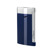 S.T. Dupont Slim 7 Lighter, Blue & Chrome