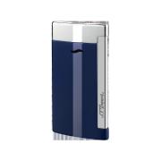 S.T. Dupont Slim 7 Lighter, Blue & Chrome