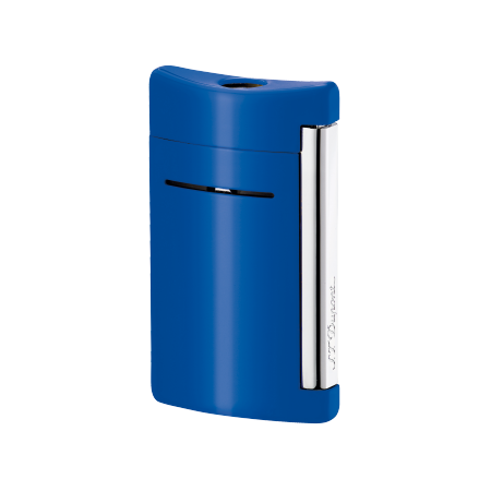 S.T. Dupont MiniJet Lighter, Cyan Blue