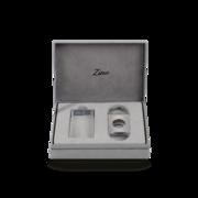 Zino Z-Collection Set, Chrome Lighter & Cutter