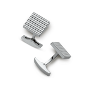 S.T. Dupont Cufflinks Diamond Head Collection, Square / Palladium