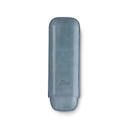 Zino Cigar Case Light Blue, 2  Cigars / DC