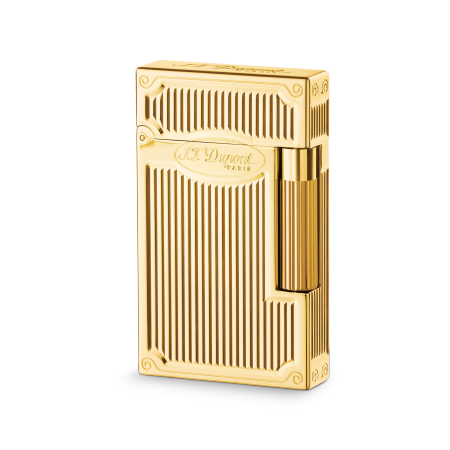 S.T. Dupont Ligne 2 'Precious Metals' Lighter, Goldsmith Yellow Gold