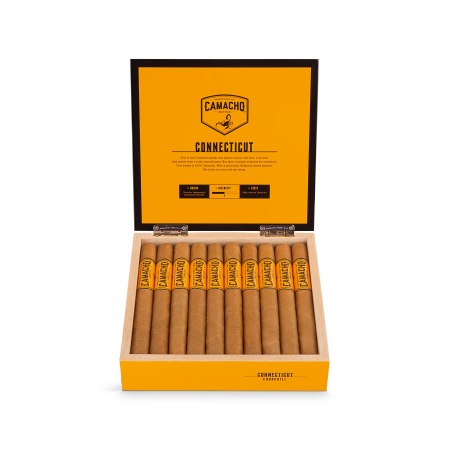 Camacho Connecticut Churchill, Box of 20