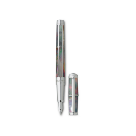 S.T. Dupont Line D Pen Black Mother Of Pearl, Fountain