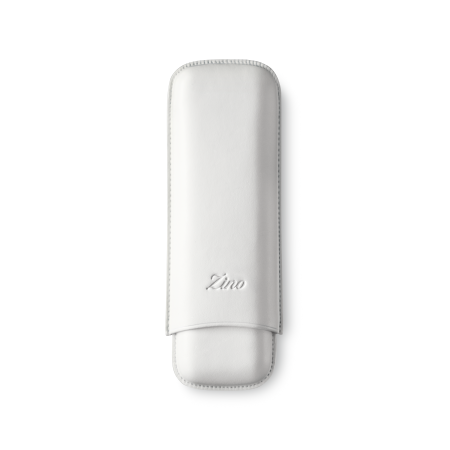 Zino Cigar Case White, 2  Cigars / DC - Code DC2WHITE