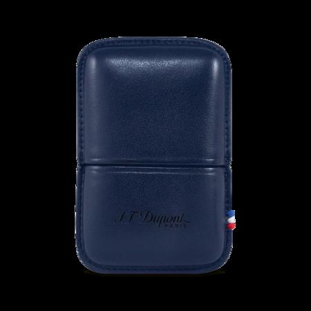 S.T. Dupont Lighter Ligne 2, Blue / Case