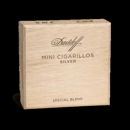 Davidoff Mini Cigarillos Silver, Box of 50