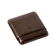 Davidoff Cigar Case Brown Lizard, 5  Cigars / R