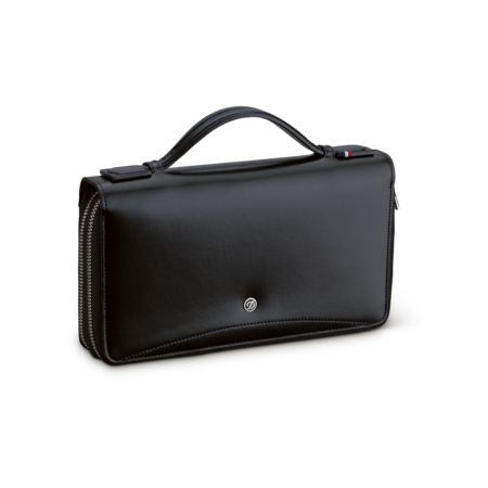 S.T. Dupont Line D Organizer Bag, Black