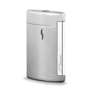 S.T. Dupont MiniJet Lighter, Brushed Chrome