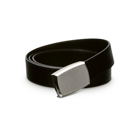 S.T. Dupont Belt Reversible Black / Brown, Diamond Pattern