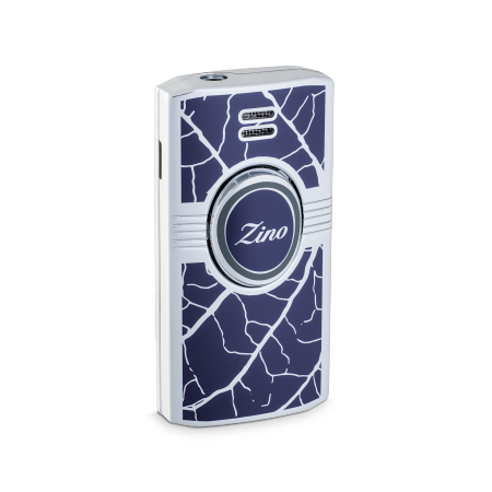Zino Lighter 'Graphic Leaf', Blue/Grey