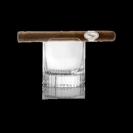 Davidoff Winston Churchill Cigar Rest Spirit Glass, Set of 2