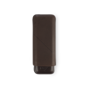 Davidoff Cigar Case Leaf, Brown / 2 Cigars / XL