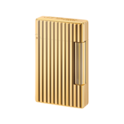 S.T. Dupont Lighter Initial, Gold / Vertical Line