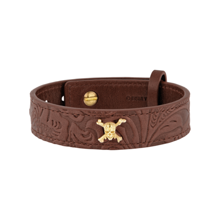 S.T. Dupont Pirates of the Caribbean Bracelet, Brown Leather