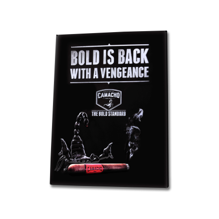 Camacho Wall Sign 'Bold', Tin / 18x24