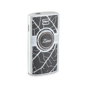 Zino Lighter 'Graphic Leaf', Grey/Brown