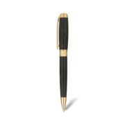 S.T. Dupont James Bond 007 Line D Pen, Ballpoint / Black Lacquer & Gold