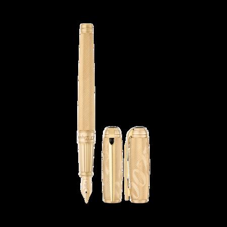 S.T. Dupont James Bond 007 Line D Pen, Fountain / Gold