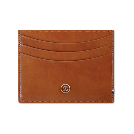 S.T. Dupont Credit Card Holder, Brown