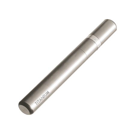 Davidoff Pipe Tamper, Titanium / Rhodium