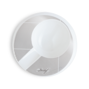 Davidoff Porcelain Ashtray, Round / 1 Cigar Holder