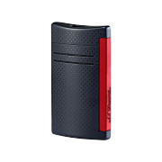 S.T. Dupont MaxiJet Lighter, black red pattern