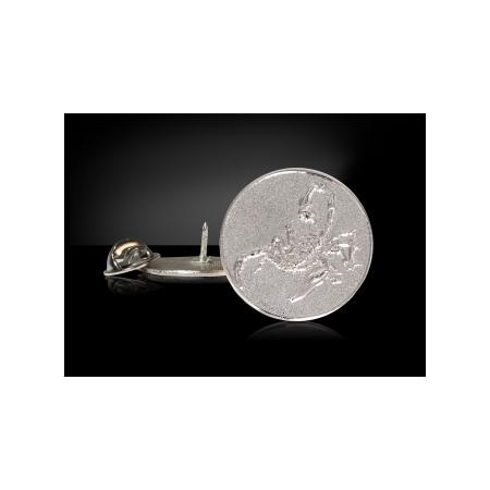 Camacho Scorpion Lapels, Silver
