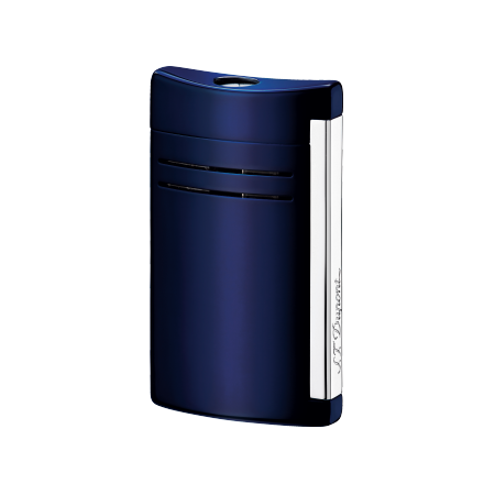 S.T. Dupont MaxiJet Lighter, Midnight Blue Lacquer