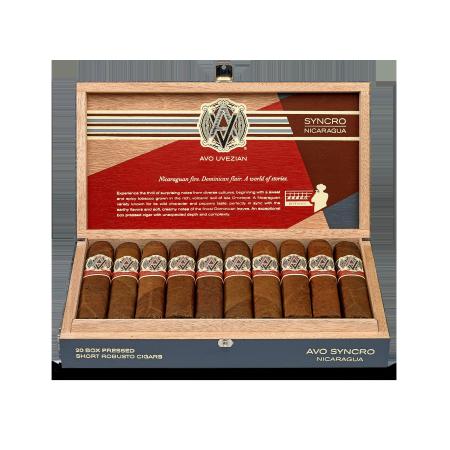 Avo Syncro Nicaragua Short Robusto, Box of 20